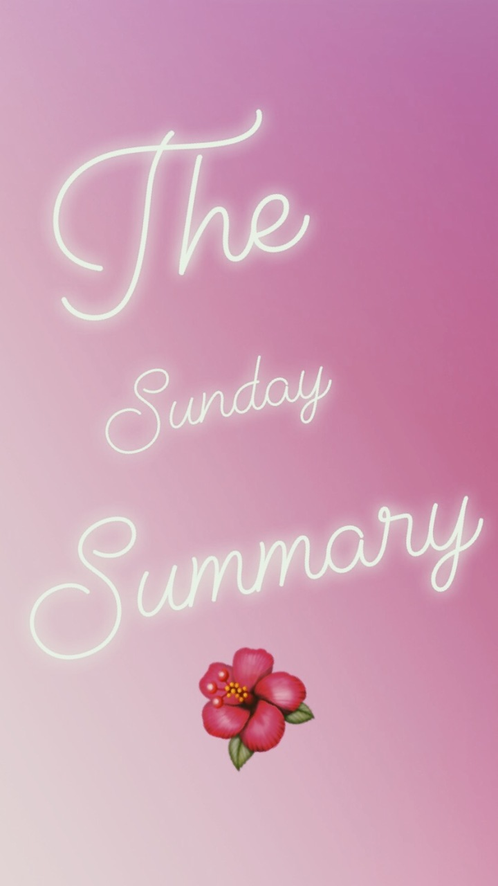The Sunday Summary