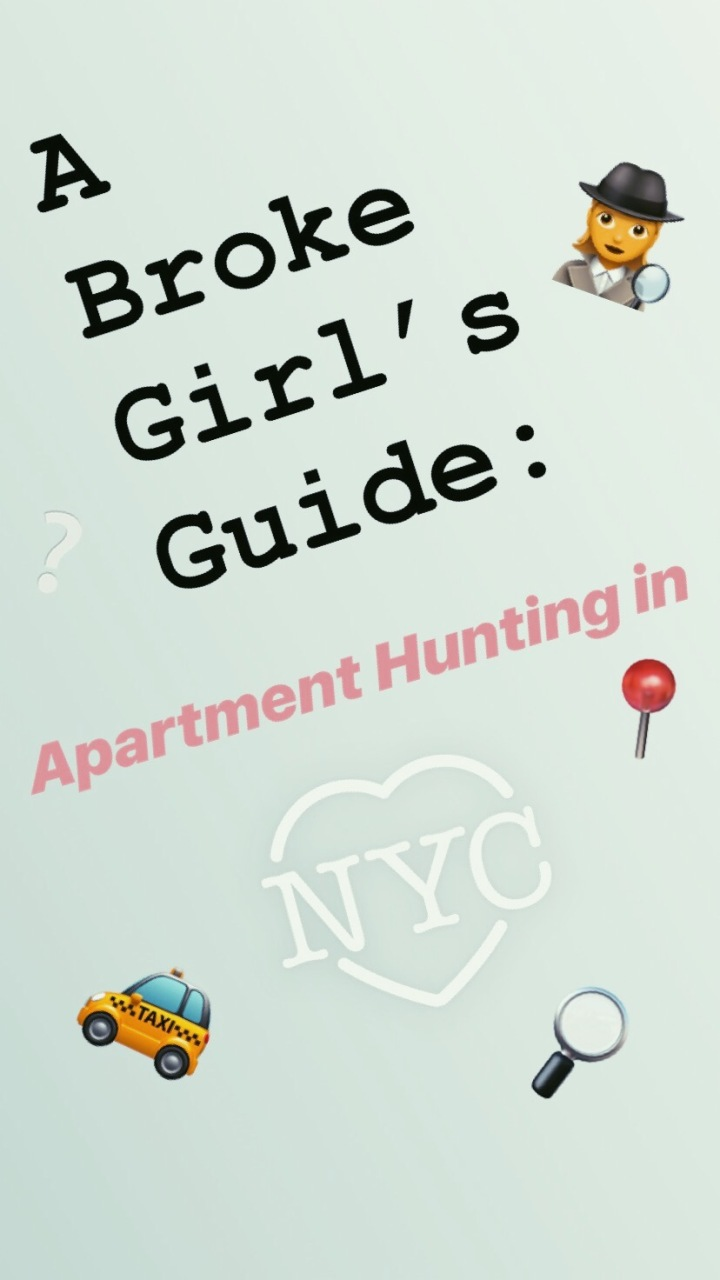 The Broke Girl's Guide: Apartment Hunting in NYC